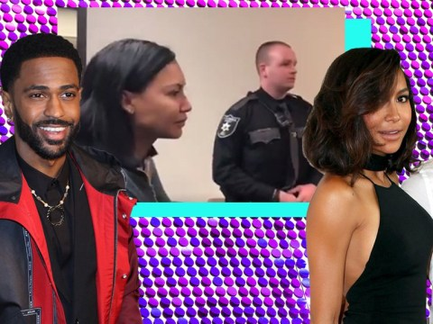 Rapper Big Sean says 'I told y'all' as ex and Glee's Naya Rivera is arrested for domestic battery against husband
