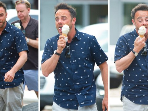 Ant McPartlin cools off with ice cream during break in I'm A Celeb filming as marriage rift rumours heat up