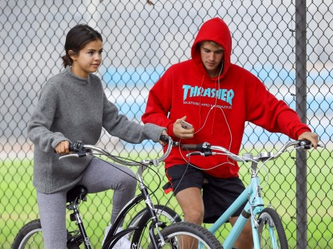 Justin Bieber's family are so glad he's back with Selena Gomez