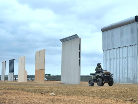 Height of Trump's Mexico border wall make it near-impossible to scale, tests confirm