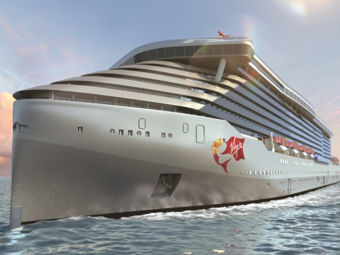 Virgin launches its first ever cruise ship