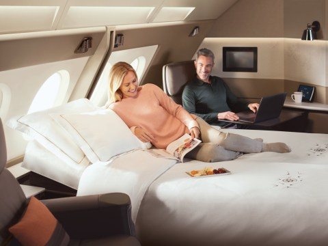 Singapore Airlines' new first class suites are like hotel rooms in the sky