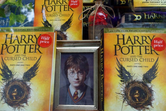 Harry Potter fans speculate after JK Rowling Cursed Child