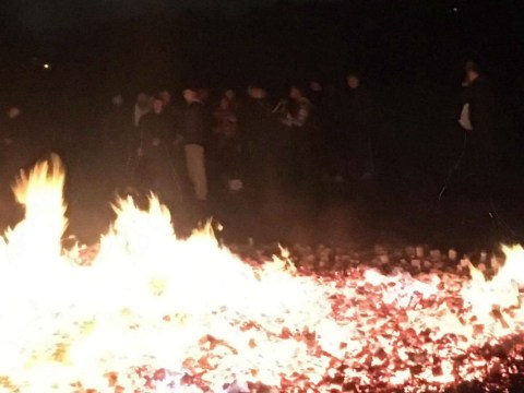 Children ruin bonfire night by 'throwing aerosols into flames and hurling bricks'