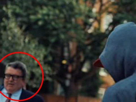 Labour's Tom Watson makes inadvertent cameo in rap video
