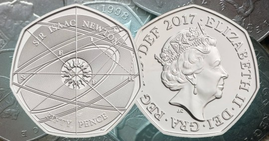 Isaac Newton 50p Coins Being Sold For Crazy Money On Ebay Here S Why Metro News