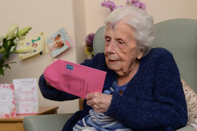 100 Year Old Woman Receives More Than 600 Birthday Cards From Total Strangers