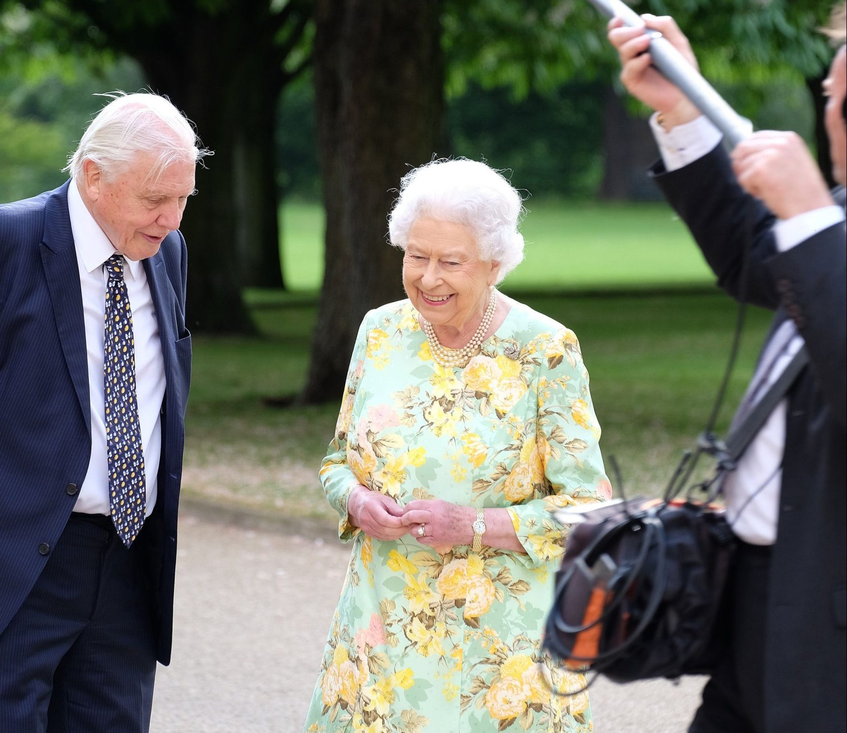 The Queen and David Attenborough will be on TV together