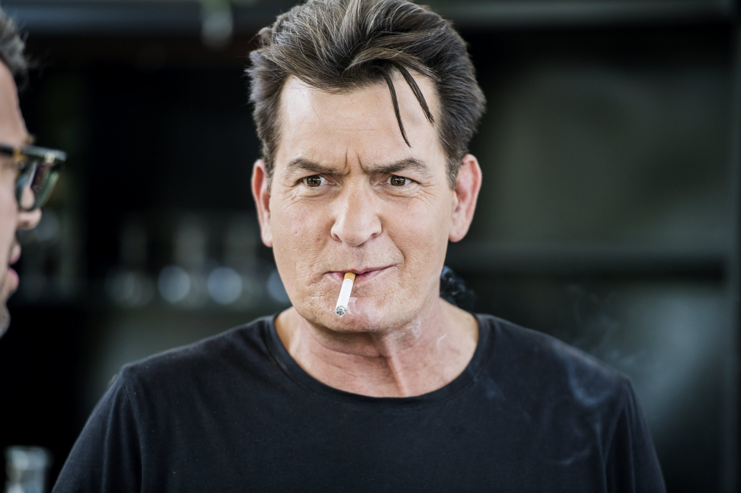Charlie Sheen says 'hooker' suing him 'knew he had HIV'