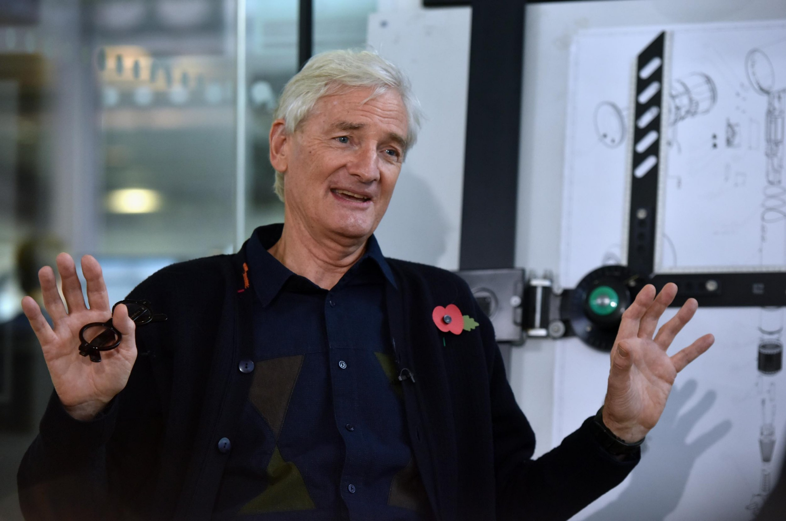 James Dyson wants to make it easier to 'hire and fire' people