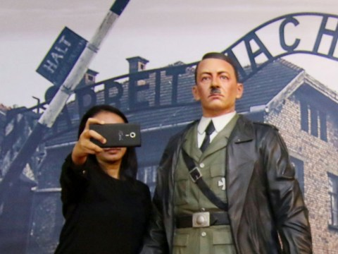 'Selfie with Hitler' museum takes down waxwork after protests