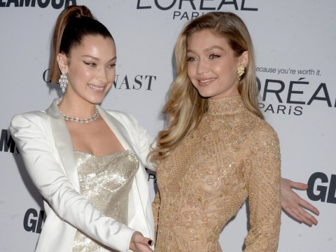 Bella Hadid shows off sister Gigi after she wins Glamour Woman Of The Year award