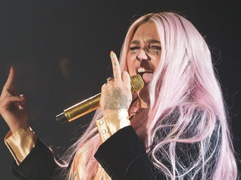 Kesha thinks it's 'f*****g amazing' that she's been nominated for first two Grammy Awards
