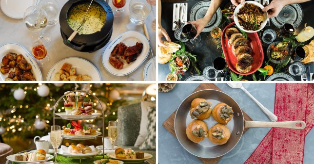 Christmas food from The Cheese Bar, Bala Baya, Balls and Company and The Park Tower