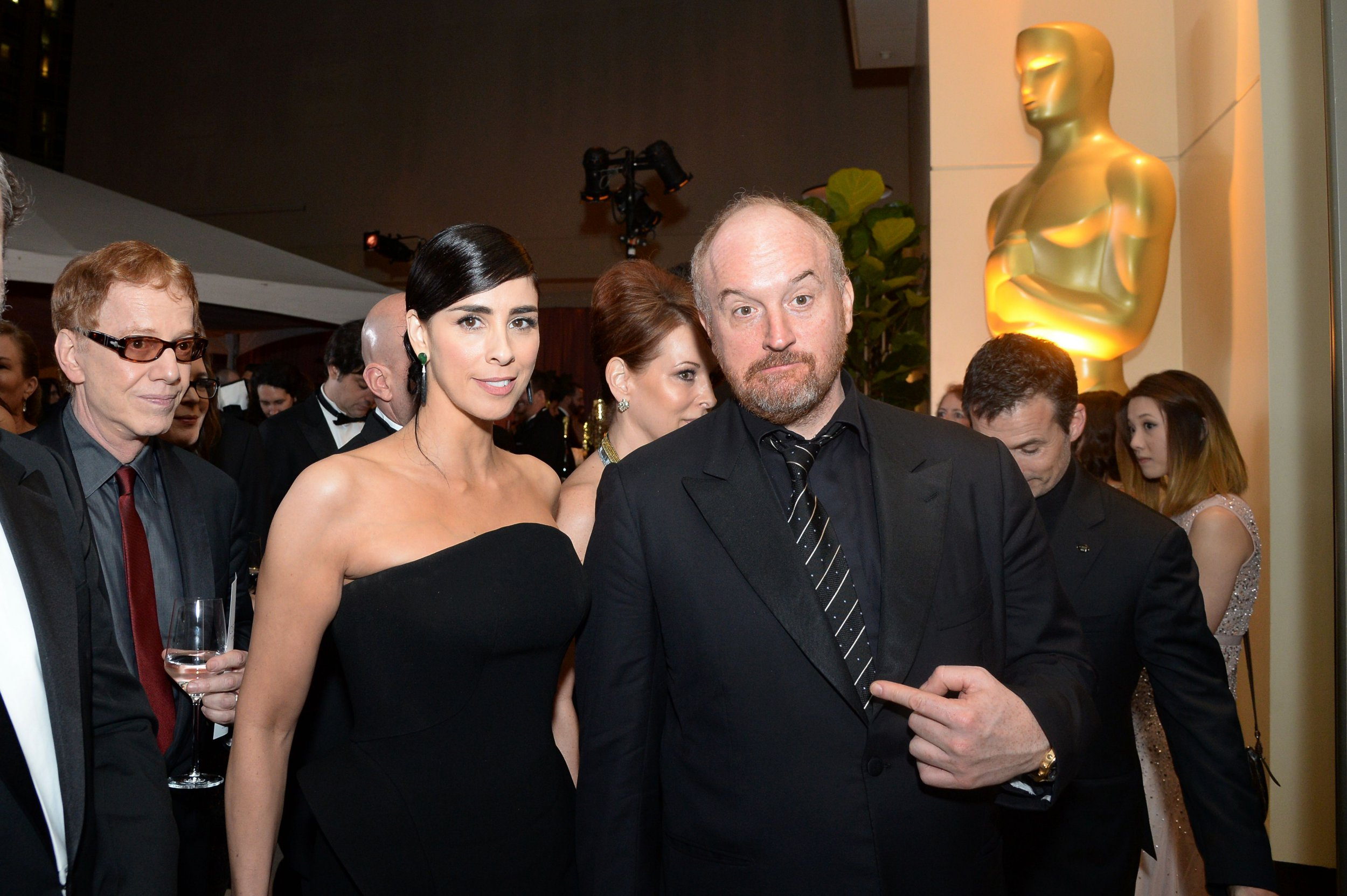 Sarah Silverman is 'angry and sad' over friend Louis C.K. harassment allegations