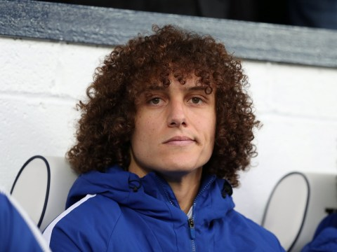 David Luiz left out of Chelsea squad after fresh injury blow