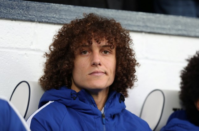 David Luiz smirks