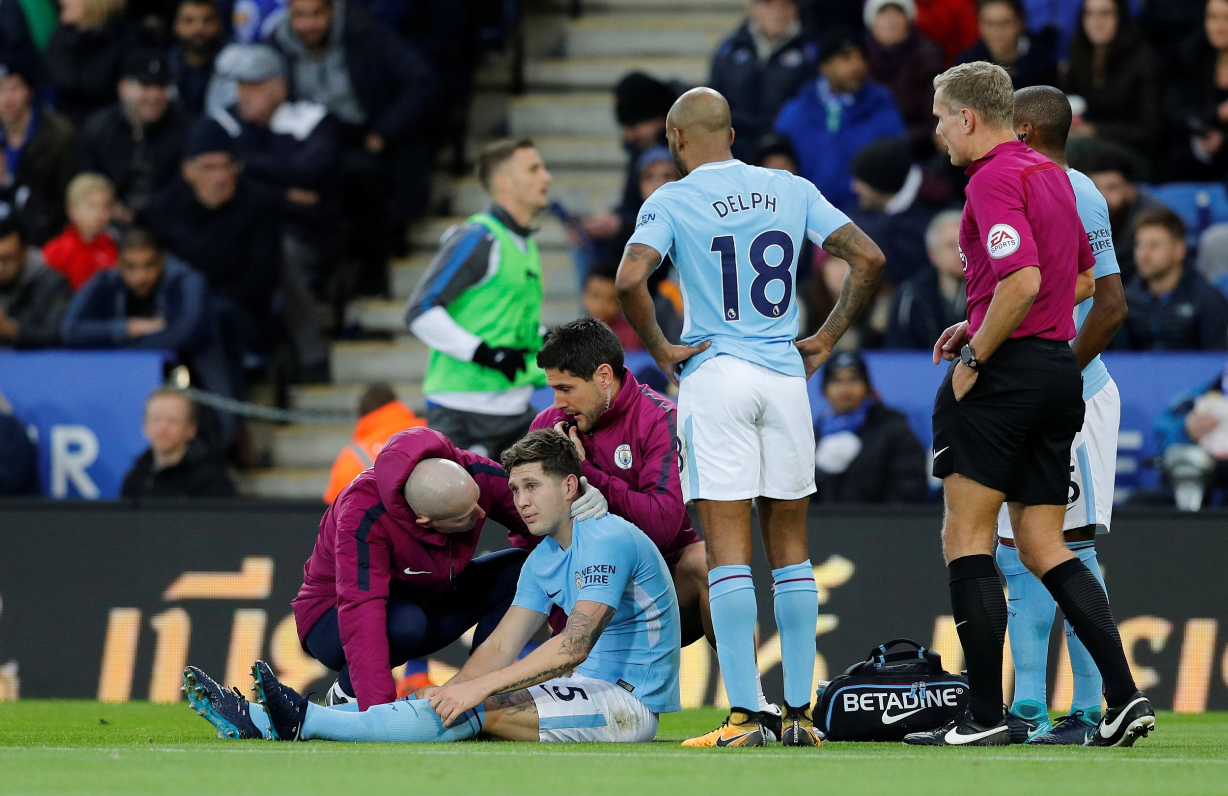 Pep Guardiola attributes John Stones' hamstring injury to playing unnecessary international football