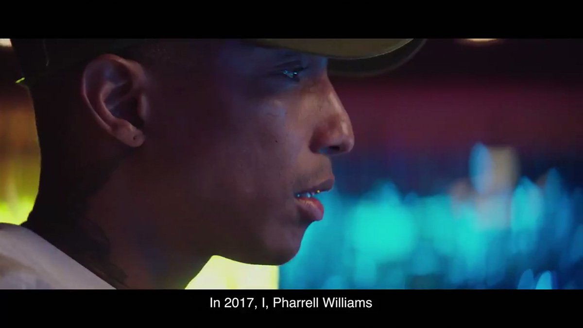 Pharrell locks away latest single in a time capsule for 100 years