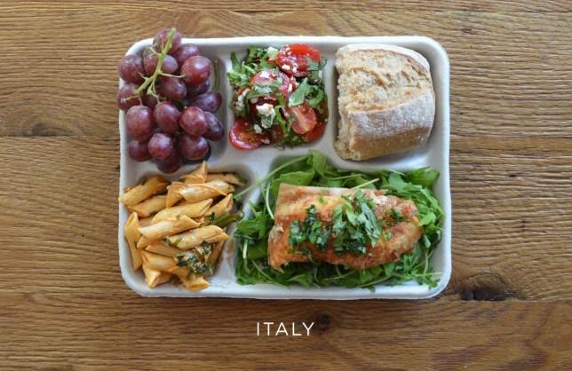 Best school dinners around the world
