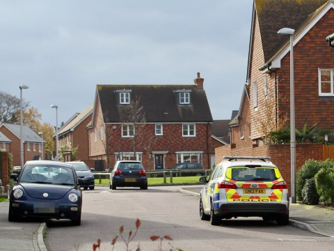 Major hunt for two children after they were 'snatched from housing estate'
