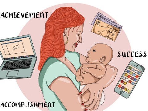 Forget whatever goals you have for your maternity leave – you'll be too busy keeping the baby alive