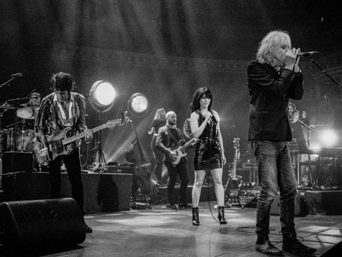 The Irish stars aligned as Imelda jammed with Ronnie Wood and Bob Geldof