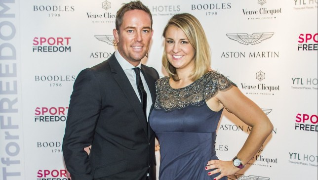 Simon Thomas and wife Gemma