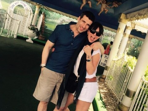 Davina McCall renewed her wedding vows to Matthew Robertson only two years ago