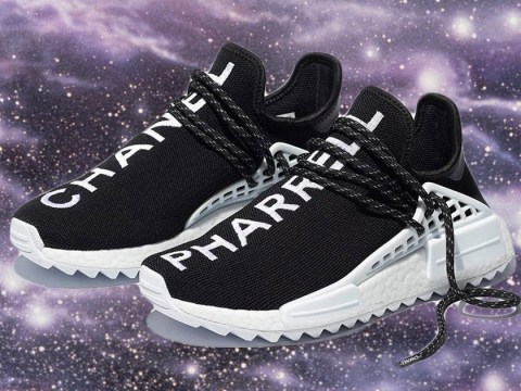 Pharrell's Chanel x Adidas trainers will set you back £30,000