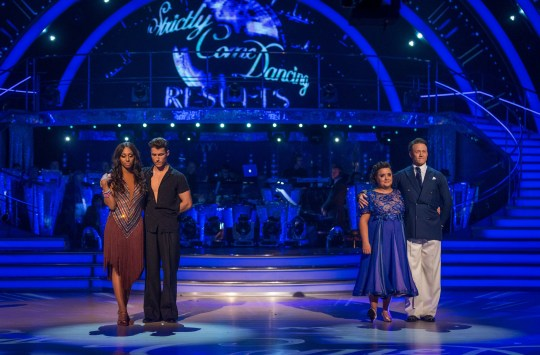 Who was voted off Strictly last night, Susan Calman or