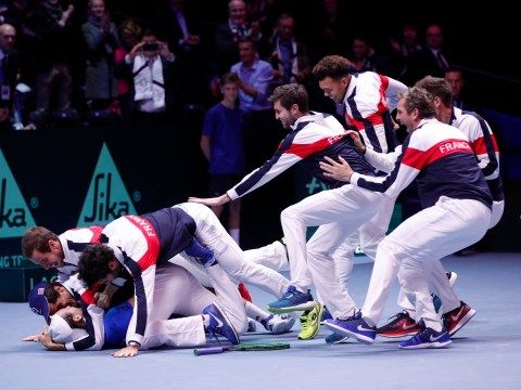 Lucas Pouille clinches Davis Cup glory for France after 3-2 win over Belgium