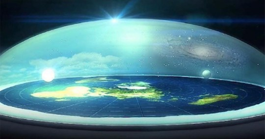 Flat Earther reveals the real reason NASA is lying to us that the Earth is round