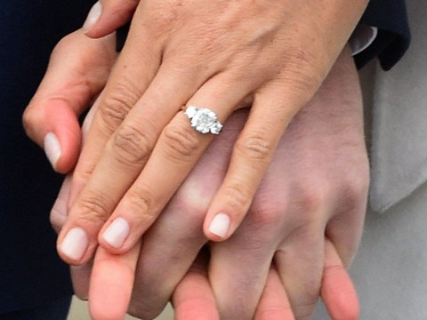 There is already a copy of Meghan Markle's engagement ring and it's £22.50