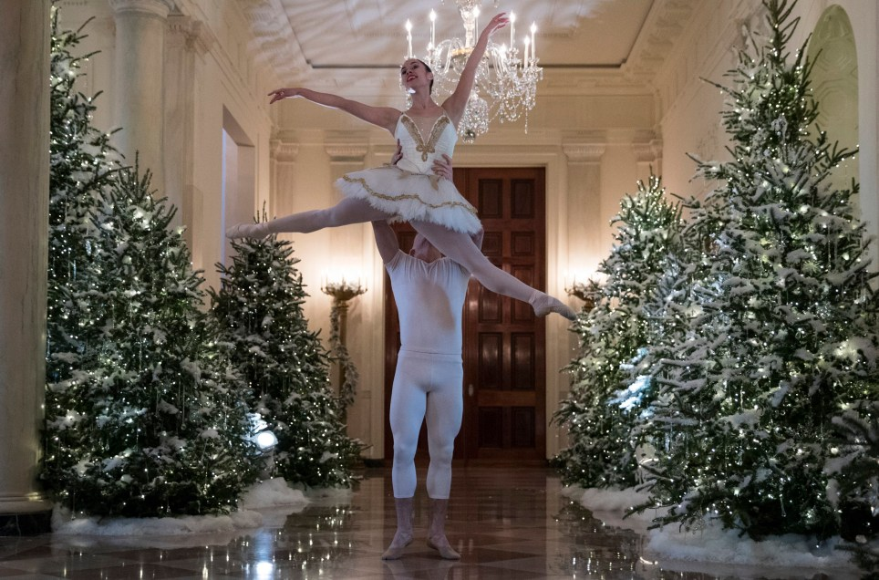 Whitehouse Christmas Decorations.Melania Trump S White House Christmas Decorations Will Give