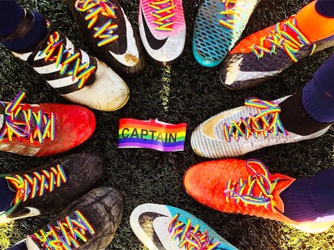 The powerful reason people are wearing rainbow laces today
