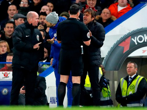 Antonio Conte sent to stands during Chelsea clash with Swansea
