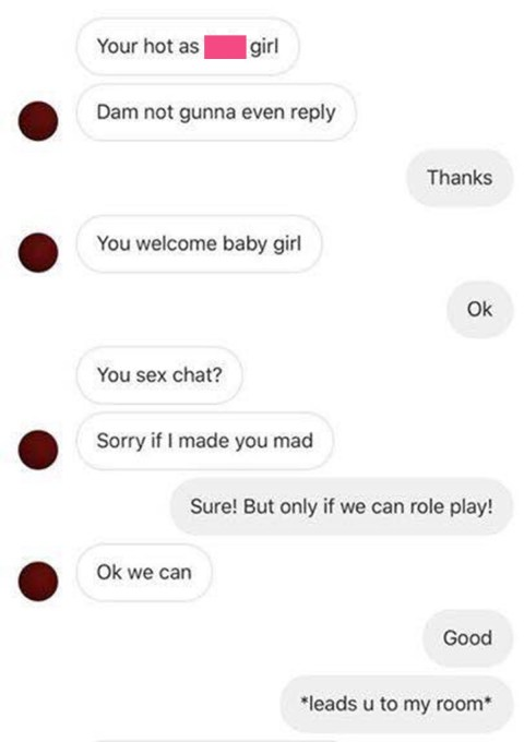 Talk dirty sms
