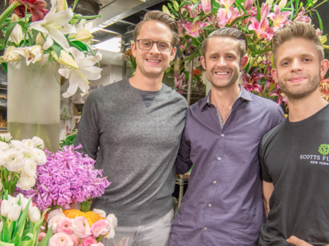 A look inside one of New York's oldest and busiest florists