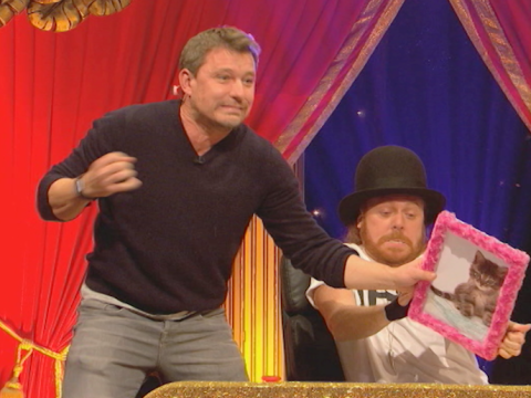 No more Mr Nice Guy, Ben Shephard abuses 'a picture of a kitten' on Celebrity Juice