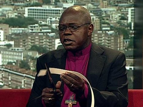 Will Archbishop John Sentamu put his dog collar back on now Mugabe has resigned?