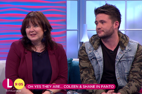 Coleen Nolan wants I'm A Celeb producers to get her and son Shane Jr on the show