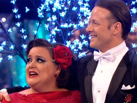 Susan Calman sheds a few tears on Strictly as she aces her tango with Kevin Clifton