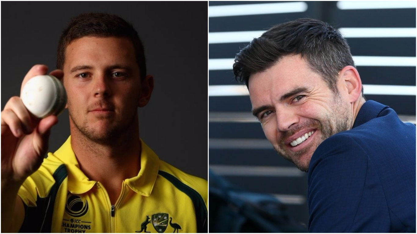 Australia bowler Josh Hazlewood labelled a 'poor man's James Anderson' ahead of Ashes opener