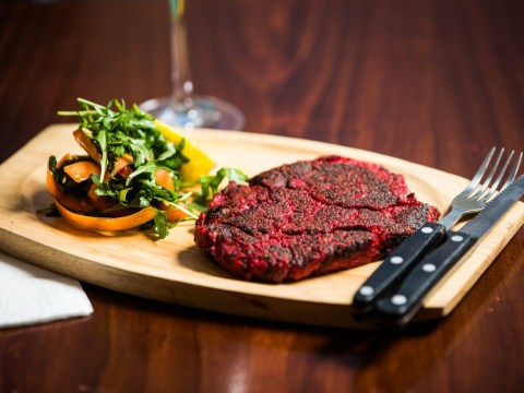 Fancy getting a bloody vegan steak delivered to your house this lunchtime?