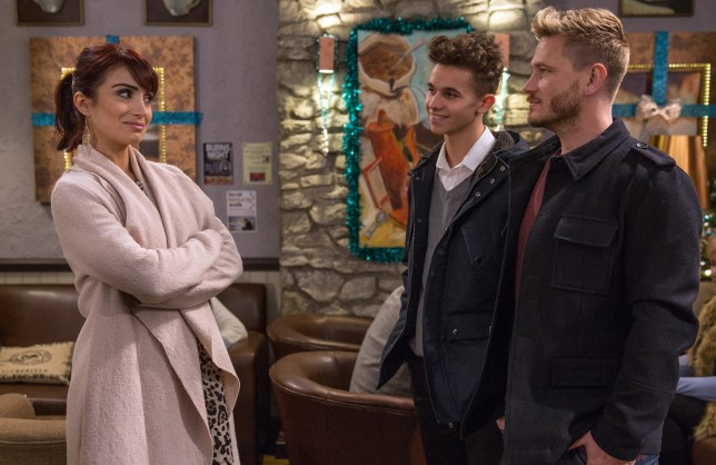 Jacob wants Leyla to stay in Emmerdale