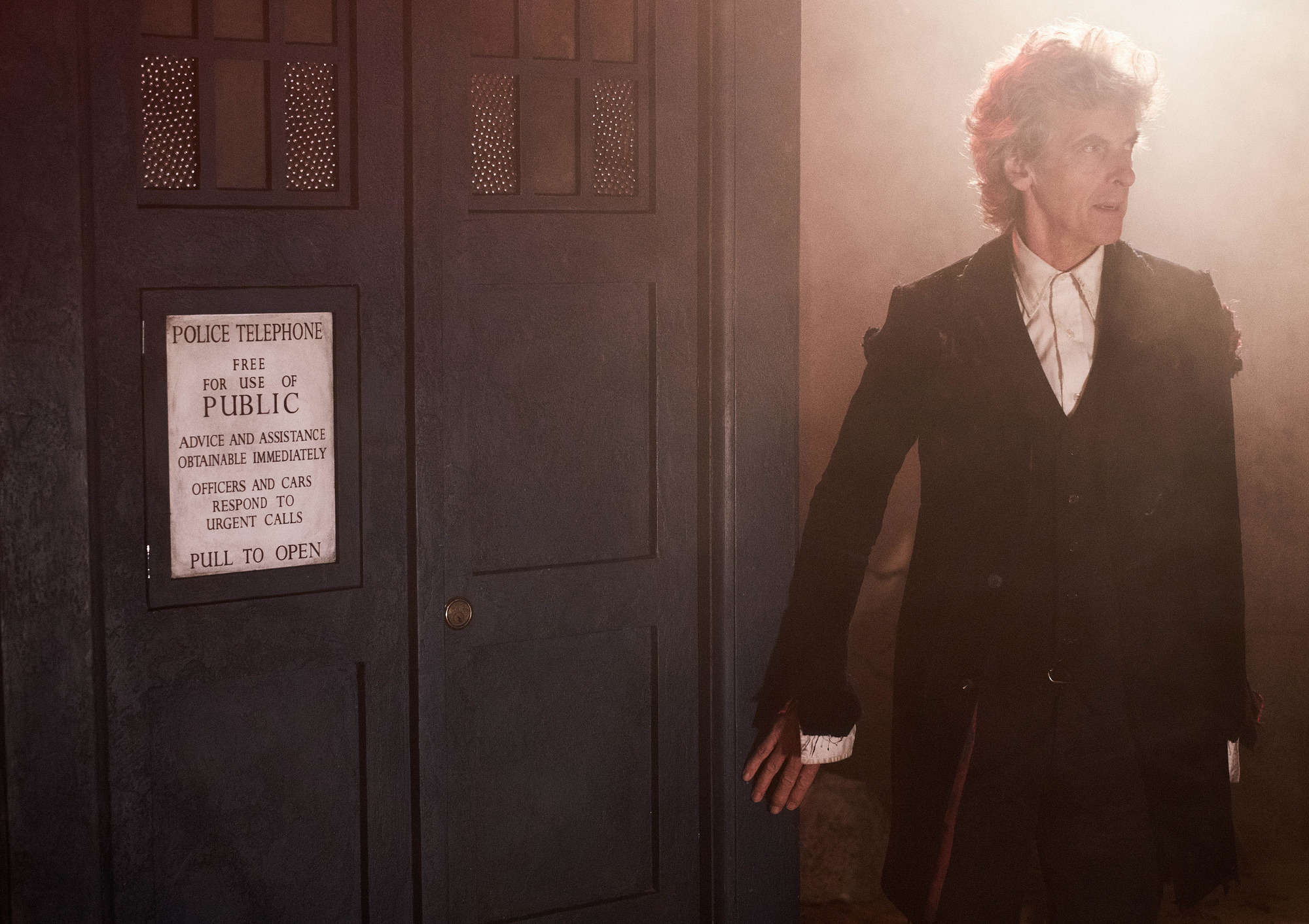 'Time I was off': Peter Capaldi sends heartwarming final message to Doctor Who fans