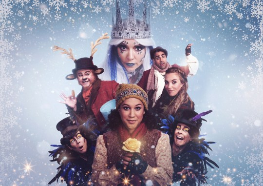 Will It Snow For Christmas Cast.We Went To See Cbeebies Christmas Show The Snow Queen Being