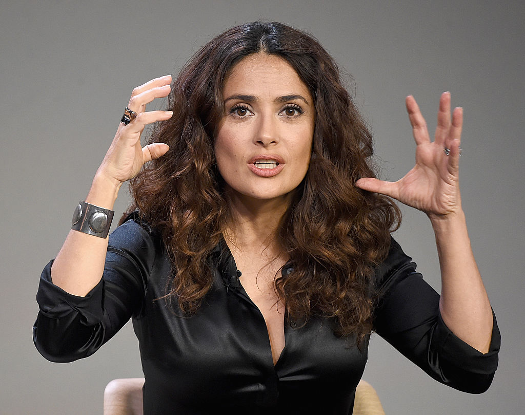 Salma Hayek claims Harvey Weinstein 'threatened to break her kneecaps' on Frida set