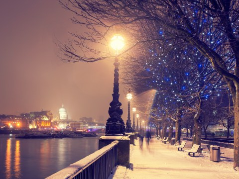 When was the last white Christmas in the UK and London?